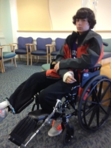 noah in wheelchair