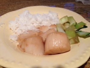 simple scallops