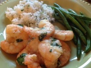 final shrimp plate