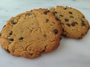 big choc chip cookie