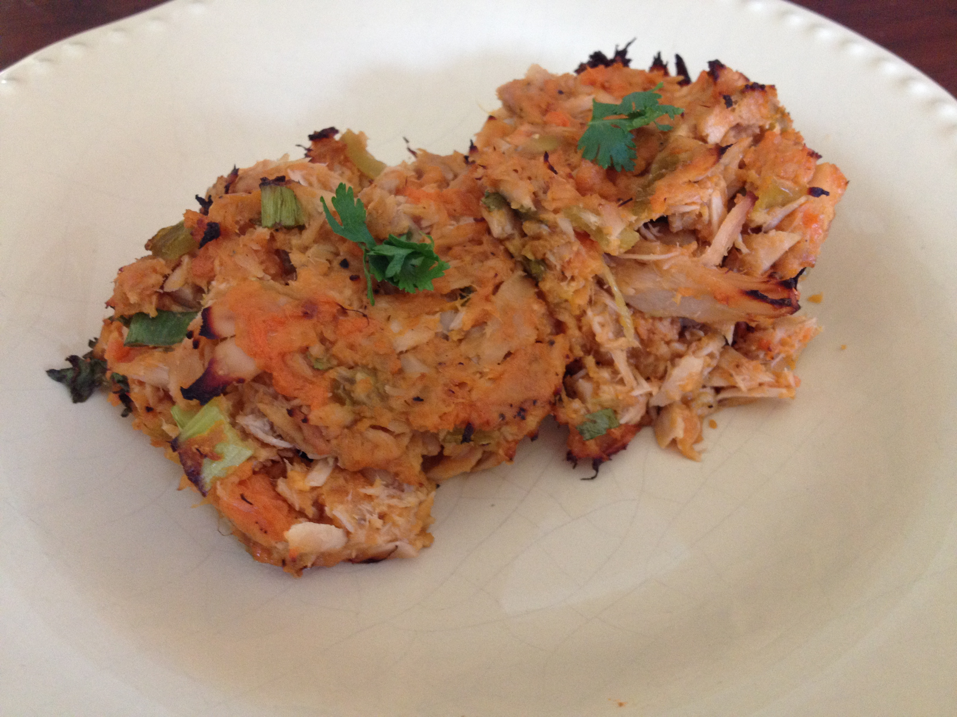 Spicy Tuna Cakes – Adapted from Nom Nom Paleo