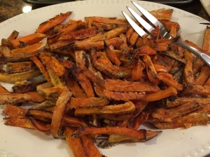 coated sweet pot fries