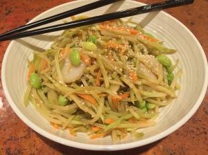 asian broc slaw stir fry