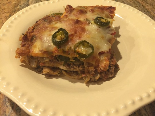 tortilla mexican lasagna